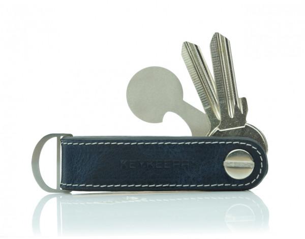 Schlüsselorganizer Leder Loop - Midnight Blue