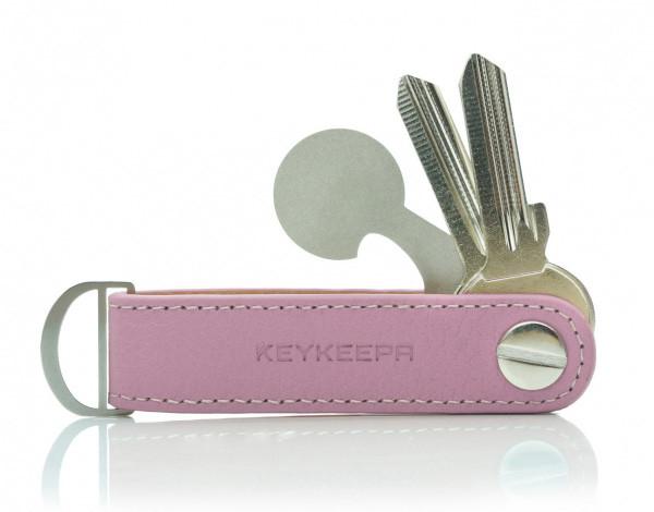 Schlüsselorganizer Leder LOOP - Sweet Rosé