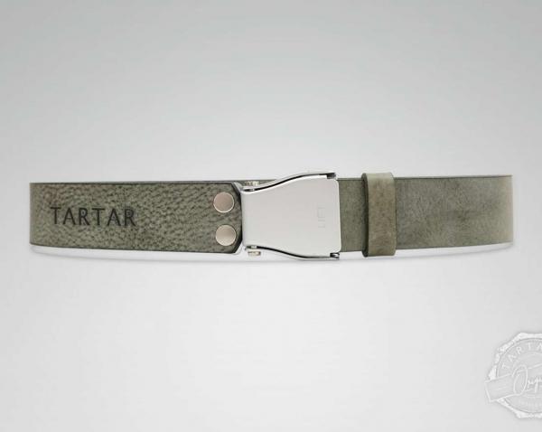 TARTAR - Ash mit silberner Flugzeugschnalle
